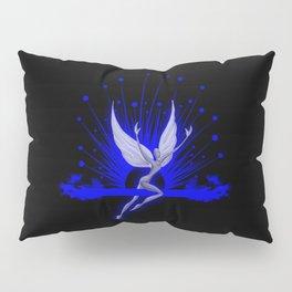 Electric Blue Angel Pillow Sham