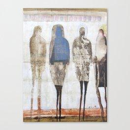 Uneven Ladies Canvas Print