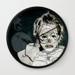 FRIENDLY MONSTERS Wall Clock