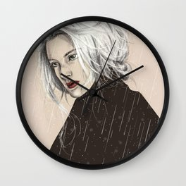 When It Rains Wall Clock