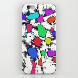 Candy scatter iPhone Skin