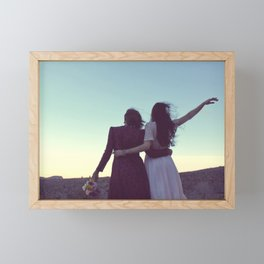 Brides Framed Mini Art Print