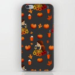 Pumpkin Spice iPhone Skin