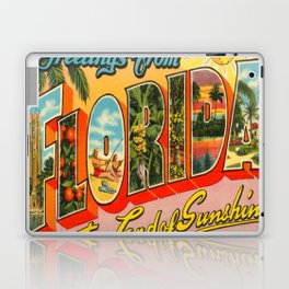Greetings From Florida Laptop & iPad Skin