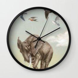 DREAMS BECOME TRUE Wall Clock