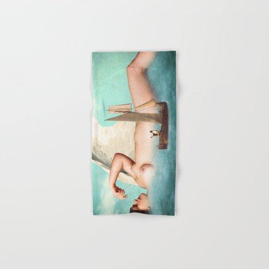 Guardian Angel Hand & Bath Towel