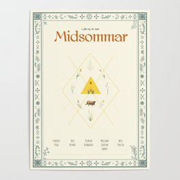 Midsommar Movie Poster Poster