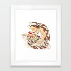 Berry Framed Art Print