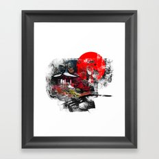 Abstract Kyoto Framed Art Print