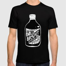 Don't Be Stupid Elixir Mens Fitted Tee MEDIUM Black