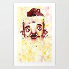 Super Mario 1 Art Print