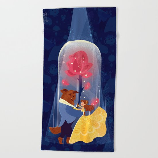 Be Our Guest Beach Towel
