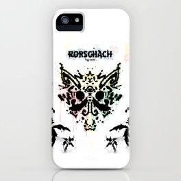 Rorschach Album Cover iPhone Case