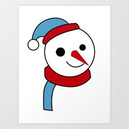merry christmas vector desiagn Art Print