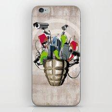 Le troisième oeil iPhone & iPod Skin