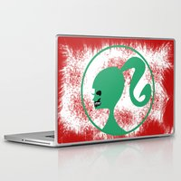 zombie Laptop & iPad Skins featuring Zombie by Los Espada Art
