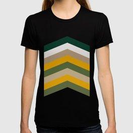 Moraccon chevron T-shirt