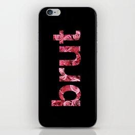 brut roses iPhone Skin