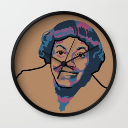 Gwendolyn Brooks Wall Clock