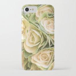 Greenyellow roses iPhone Case