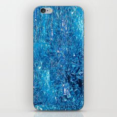 Broken and blue iPhone & iPod Skin