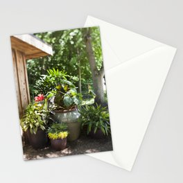 Container Gardening Done Right Stationery Cards