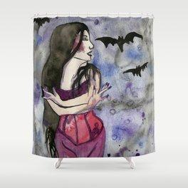Christina Death Shower Curtain