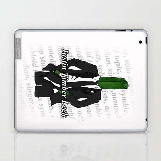 Justin Timber Leek Laptop & iPad Skin