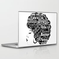 afro Laptop & iPad Skins featuring Afro-Centric by Shantea Kennon