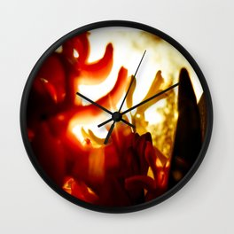 Hyacinth Wall Clock