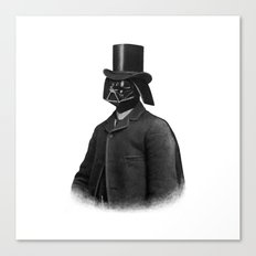 Lord Vadersworth (mono) Canvas Print