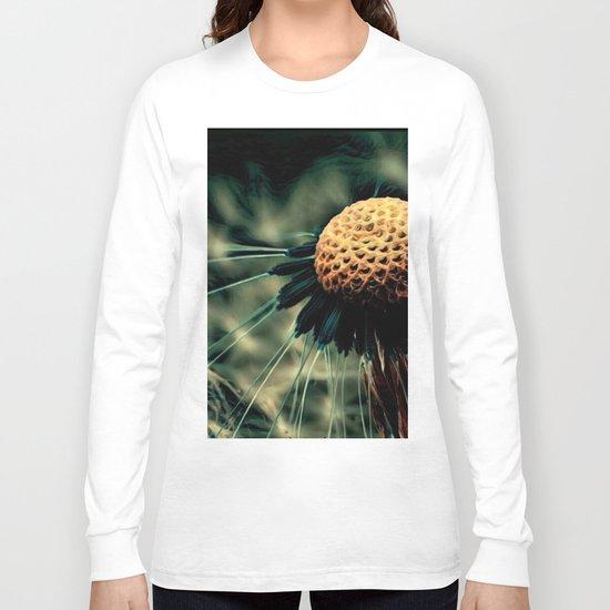 Dying Wish (Eerie Dandelion Flower) Long Sleeve T-shirt