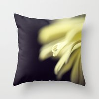 dancing Throw Pillows featuring Dancing by Amelia Kay Photography