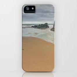Pobbles Bay Tide iPhone Case