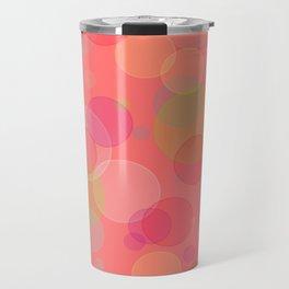 Bubblegum Bokeh Travel Mug