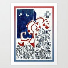 WORLD ANCHOR Art Print