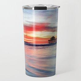 HB Sunset 1-30-18 Travel Mug