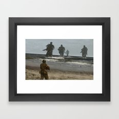 westerplatte 1939 Framed Art Print