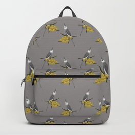White Faced Cockatiel Backpack