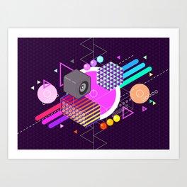 Tasty Visuals - Turn Me On Art Print