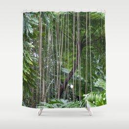 Rainforest umbrella Shower Curtain