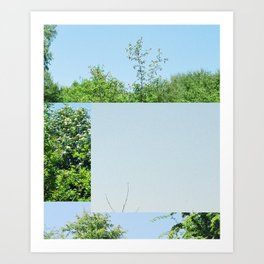 Near Hurst Road Art Print
