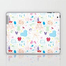 Tasting the Magic - White Laptop & iPad Skin