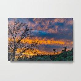 Back Bay Colors at Sunset Metal Print