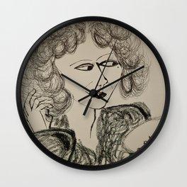 20's actress Wall Clock