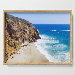 Malibu Beach Photography Serving Tray