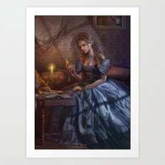 The Darkest hour Art Print