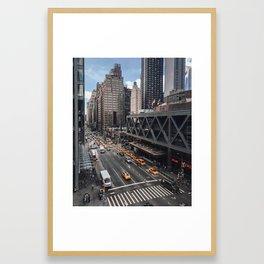 42nd Street Afternoon Framed Art Print