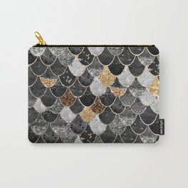 REALLY MERMAID BLACK GOLD Carry-All Pouch
