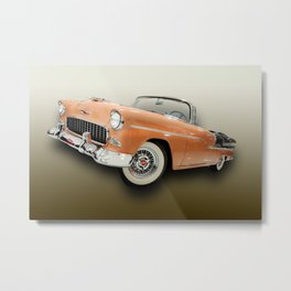 Happy Days with the Top Down Metal Print